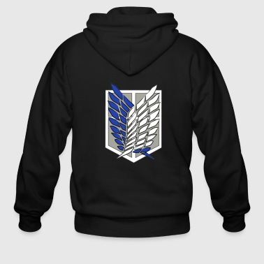 Anime Attack on Titan - Men's Zip Hoodie