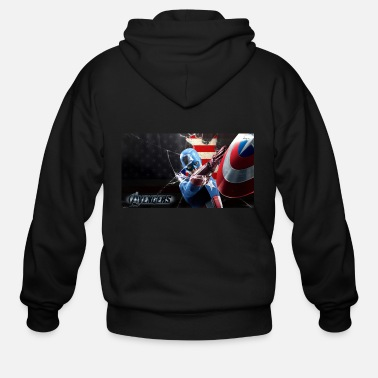 Avenger captain america the avengers tshirt - Men's Zip Hoodie