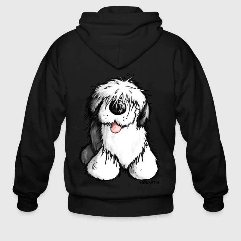 Old English Sheepdog - Men's Zip Hoodie