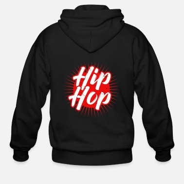 Rapper Hip Hop Music Dancing Rapper Beats Disco Gift - Men's Zip Hoodie