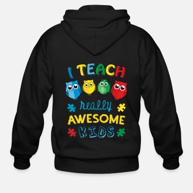Autism Awareness Autism Teacher Autism Awareness - Men's Zip Hoodie