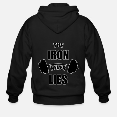 Iron Metal The Iron Never Lies - Men's Zip Hoodie
