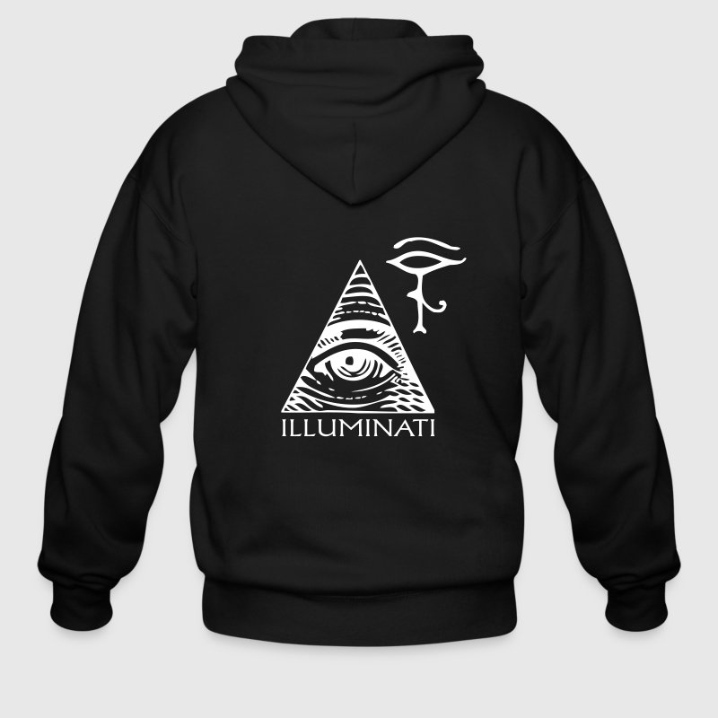 eye illuminati - Men's Zip Hoodie
