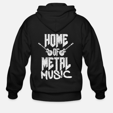 Metal Music Metal music - Men's Zip Hoodie