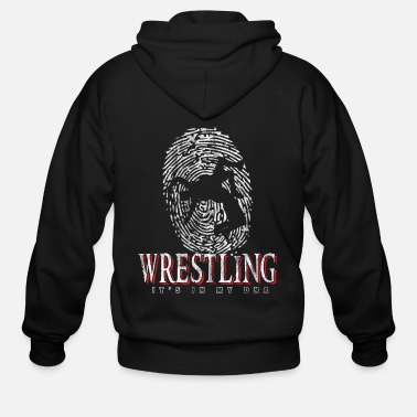 Fighter Wrestling fighter DNA - Men's Zip Hoodie