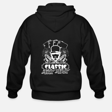 Rapper Hip Hop Classic - Men's Zip Hoodie