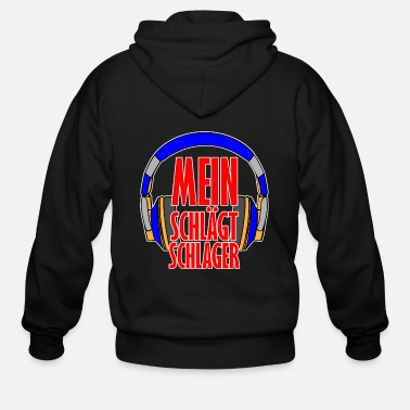 Hits My head hits hit - Men's Zip Hoodie
