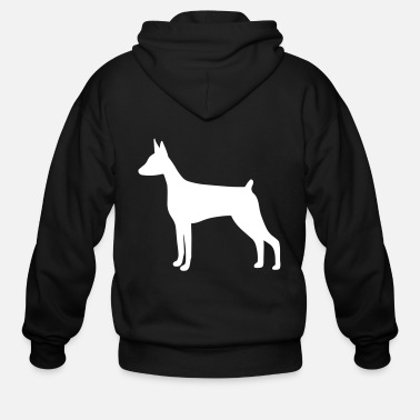 Doberman Doberman Pinscher Dog - Men's Zip Hoodie