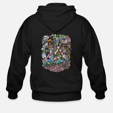 Illustrations Illustration - Men's Zip Hoodie