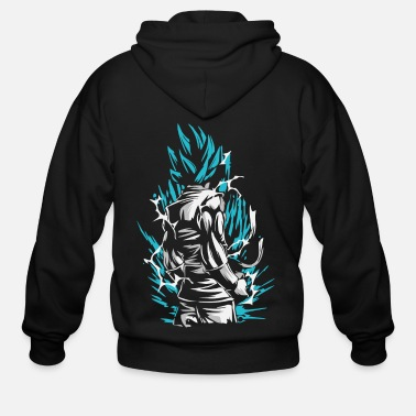 Ball Dragon Ball - Goku SSB - Men's Zip Hoodie