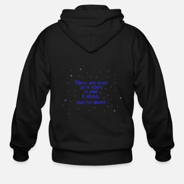 Weightless Astronomy Weightless - Men's Zip Hoodie