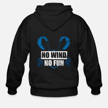 Kiteboard Kitesurfing Weather - Men's Zip Hoodie