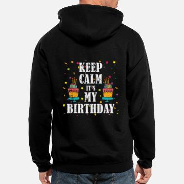 Birthday Child Birthday Birthday Child - Men's Zip Hoodie