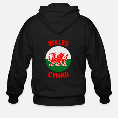 Kingdom Wales Home - Men's Zip Hoodie
