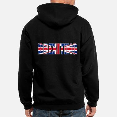 Union Jack Brexiting brexit uk flag - Men's Zip Hoodie