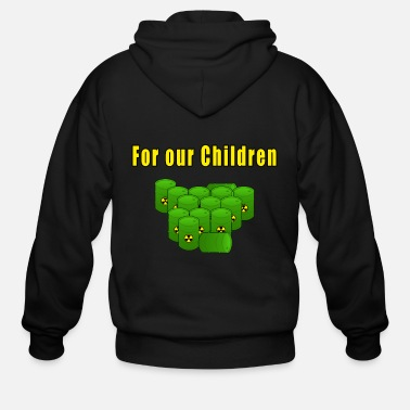 Radioactive For our children - Men's Zip Hoodie