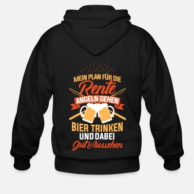 Bar Pub Beer Funny saying gift - Men's Zip Hoodie