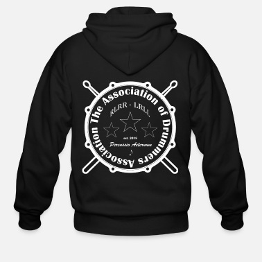 Association The Association of Drummers Association - Men's Zip Hoodie