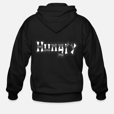 Hungry Hungry - Men's Zip Hoodie