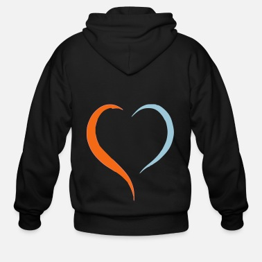 Drawing drawing - Men's Zip Hoodie