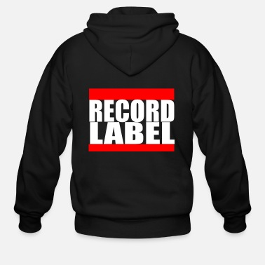 Record Label RECORD LABEL - Men's Zip Hoodie