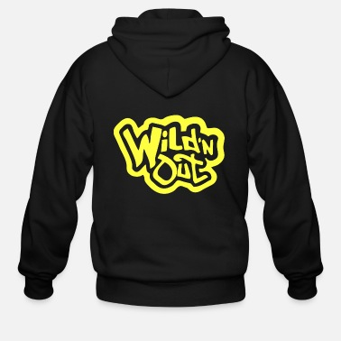 Out wild and out - Men's Zip Hoodie
