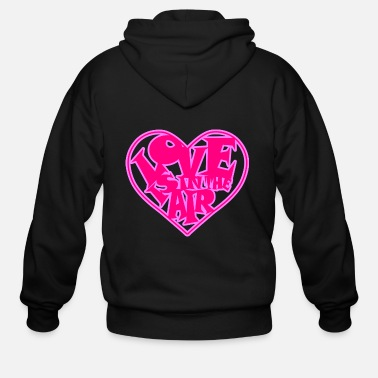 Renner Love is in the Air - Men's Zip Hoodie