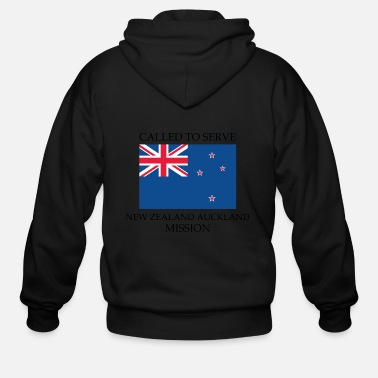 Auckland New Zealand Auckland LDS Mission Called to Serve - Men's Zip Hoodie