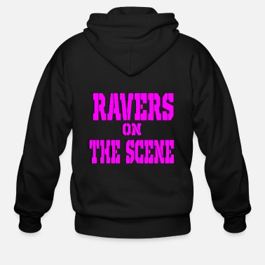 Scene ravers on the scene - Men's Zip Hoodie
