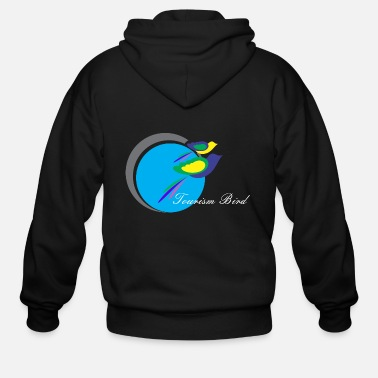 Tourism Tourism Bird - Men's Zip Hoodie