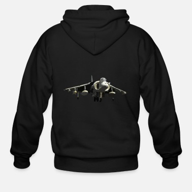 Fighter Jet fighter jet - Men's Zip Hoodie