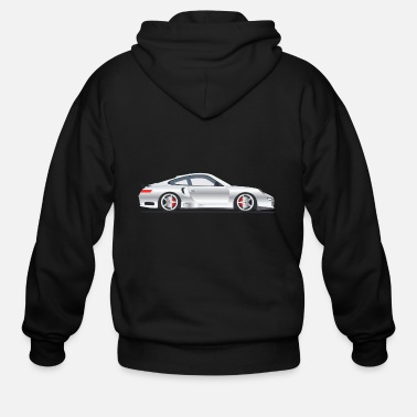 Motor Sport Sport Car Shirt Gift Idea - Men's Zip Hoodie
