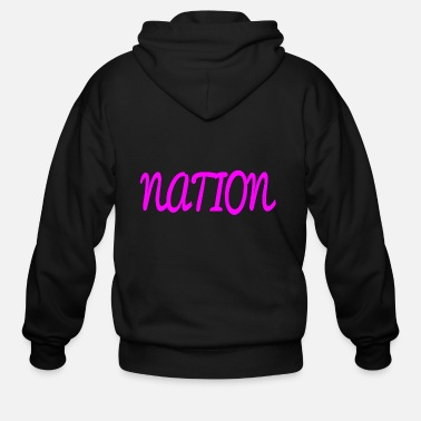 National NATION - Men's Zip Hoodie