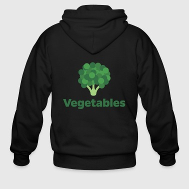 Fresh Vegetables - Men's Zip Hoodie