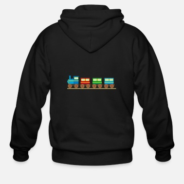 Thomas Train for kids Trains tank engine railway toddlers - Men's Zip Hoodie