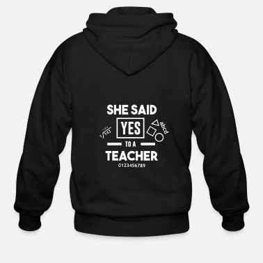 Big Bachelorette Bachelor Bride Groom teacher gift - Men's Zip Hoodie