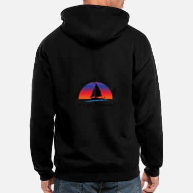 Island virgin islands - Men's Zip Hoodie
