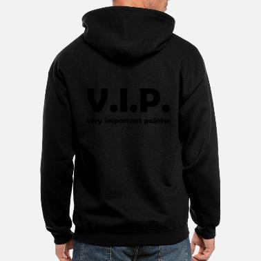 Vip vip painter - Men's Zip Hoodie