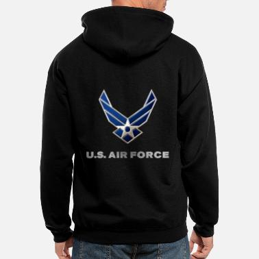 Airforce USAF - Men's Zip Hoodie