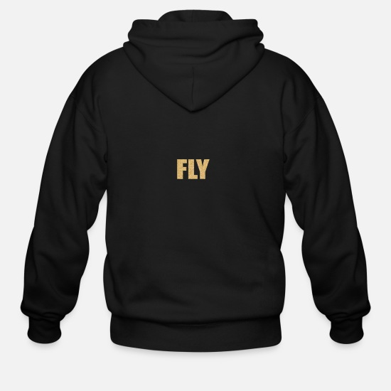 Fly Hoodies & Sweatshirts - FLY - Men's Zip Hoodie black