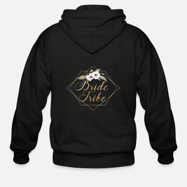 Bride bride_tribe_b - Men's Zip Hoodie