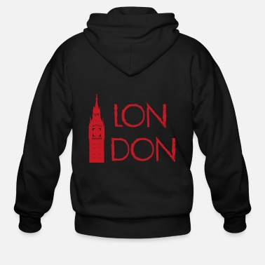 London London - Men's Zip Hoodie
