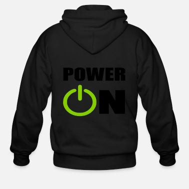 Power power on - Men's Zip Hoodie