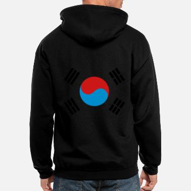 South Korea - Men's Zip Hoodie