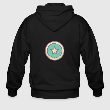 Superstar superstar - Men's Zip Hoodie