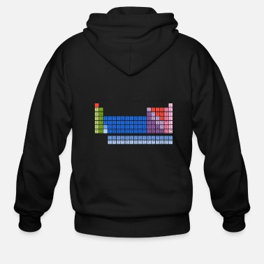 Periodic Table Periodic Table of Elements - Men's Zip Hoodie