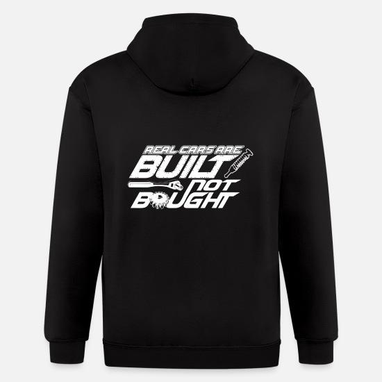 Built Not Bought Mechanic Pistons Engine Custom Sweatshirt Hoodie