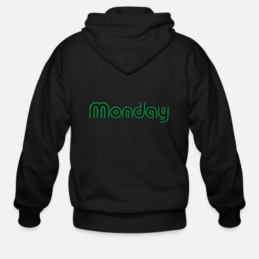 Week days of the week - Men's Zip Hoodie