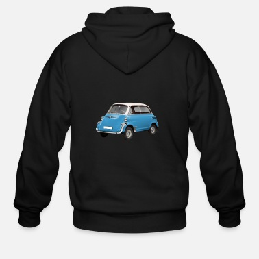 German microcar Isetta logo - Men's Zip Hoodie