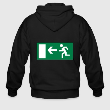Emergency Exit Emergency Exit - Men's Zip Hoodie